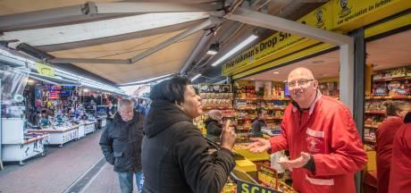 Ondernemers Haagse markt vrezen voor faillissementen: 'Het water staat ons aan de lippen'