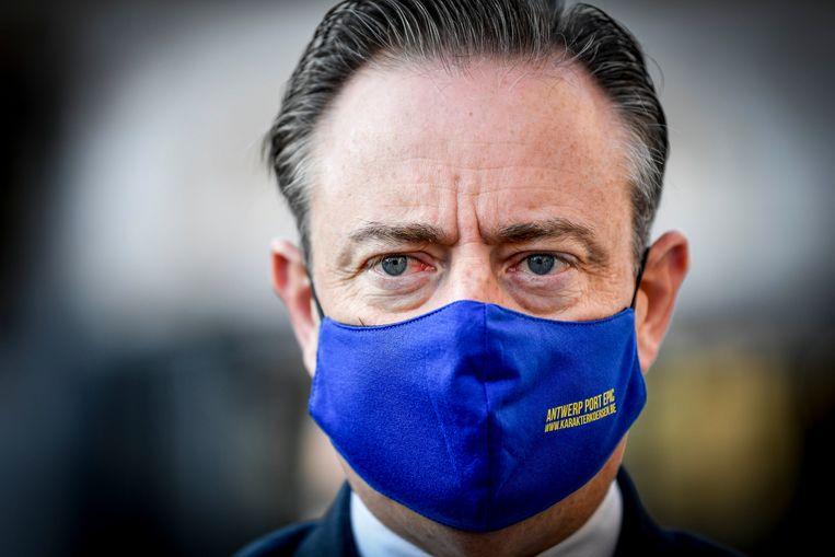 Het is een gevaarlijke verschuiving in het discours van De Wever. Vroeger was België 'de optelsom van twee democratieën', nu is het al 'geen democratie' meer. Beeld Photo News