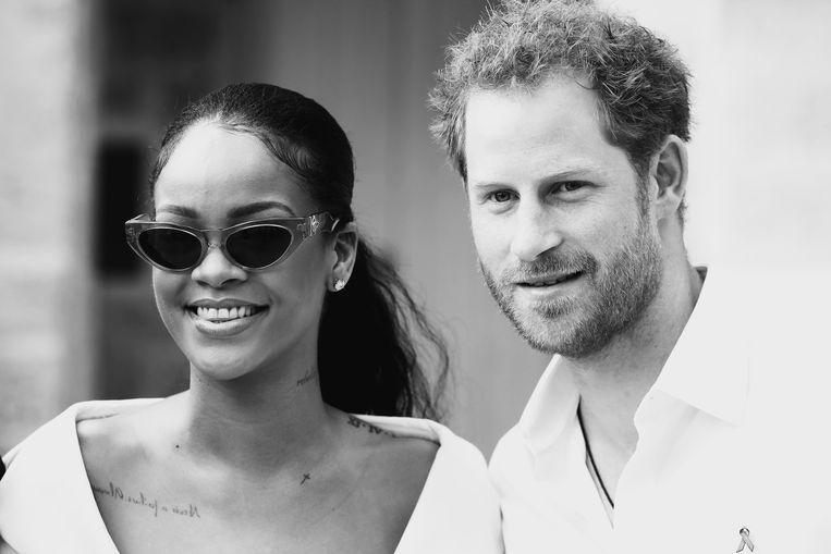 Rihanna en Prins Harry