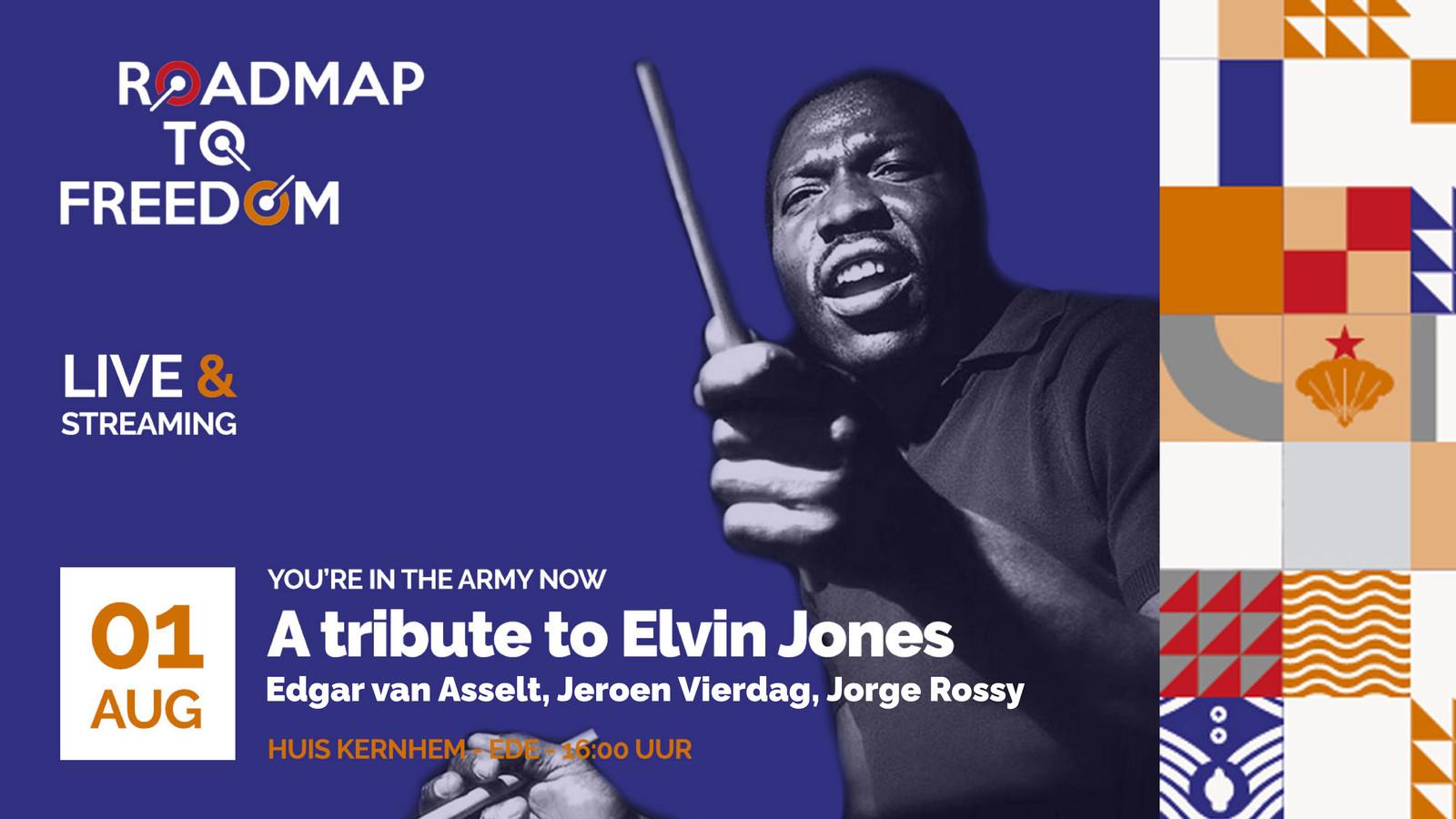 Tribute to Elvin Jones.