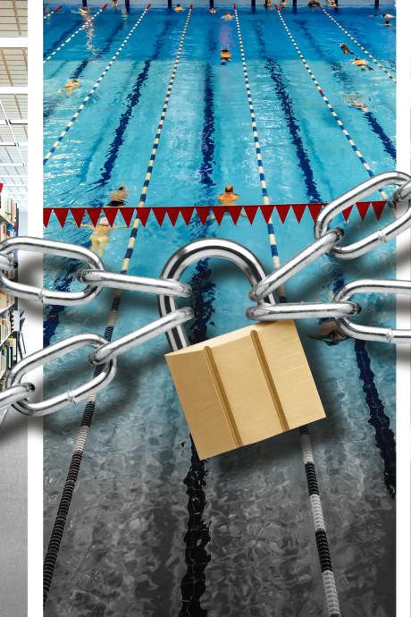 Steden: Geen geld meer voor zwembad en bibliotheek