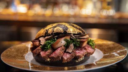 Een hapje van deze exclusieve hamburger kost je bijna 1.500 euro