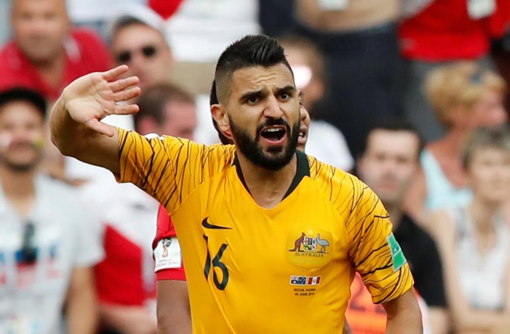Behich namens het Australisch elftal.