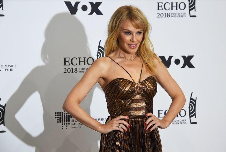 Kylie Minogue is bang van haar stalker.