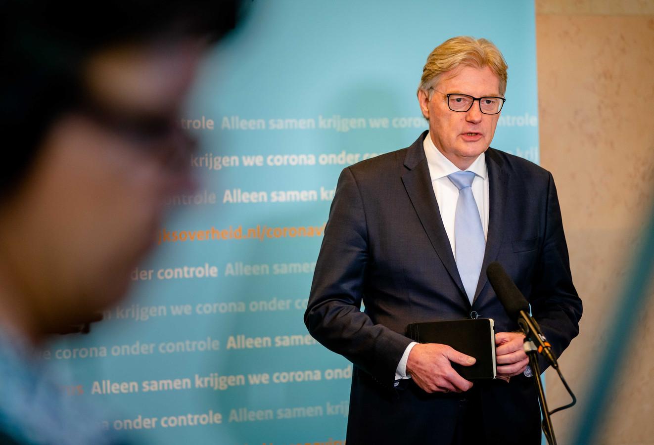Minister Van Rijn voor Medische Zorg