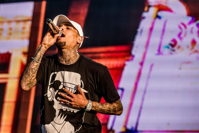Zanger Chris Brown.