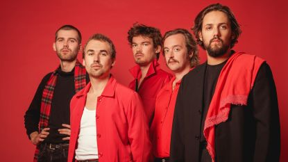 Tin Fingers test nieuw album in Edegemse Hoogmis