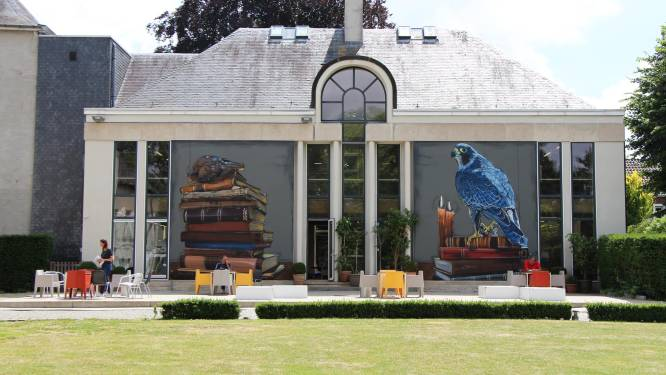 Bibliotheek Zottegem heropent leesterras