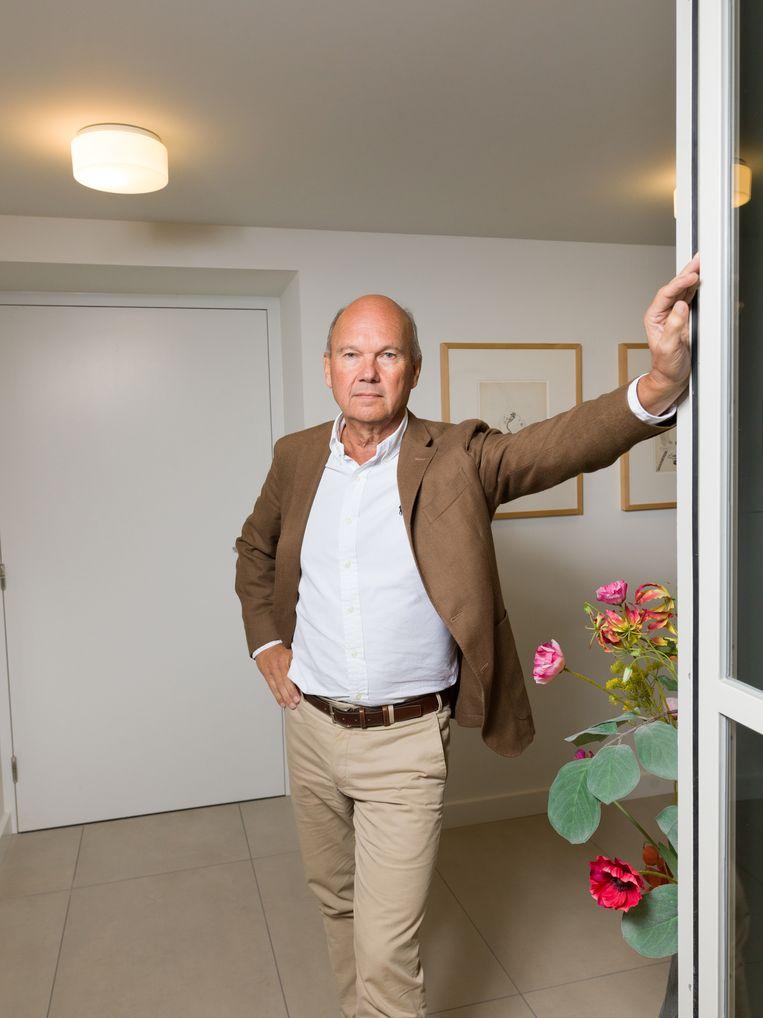Frank Eijken, voorzitter bestuursraad Ajax. Beeld Ivo van der Bent