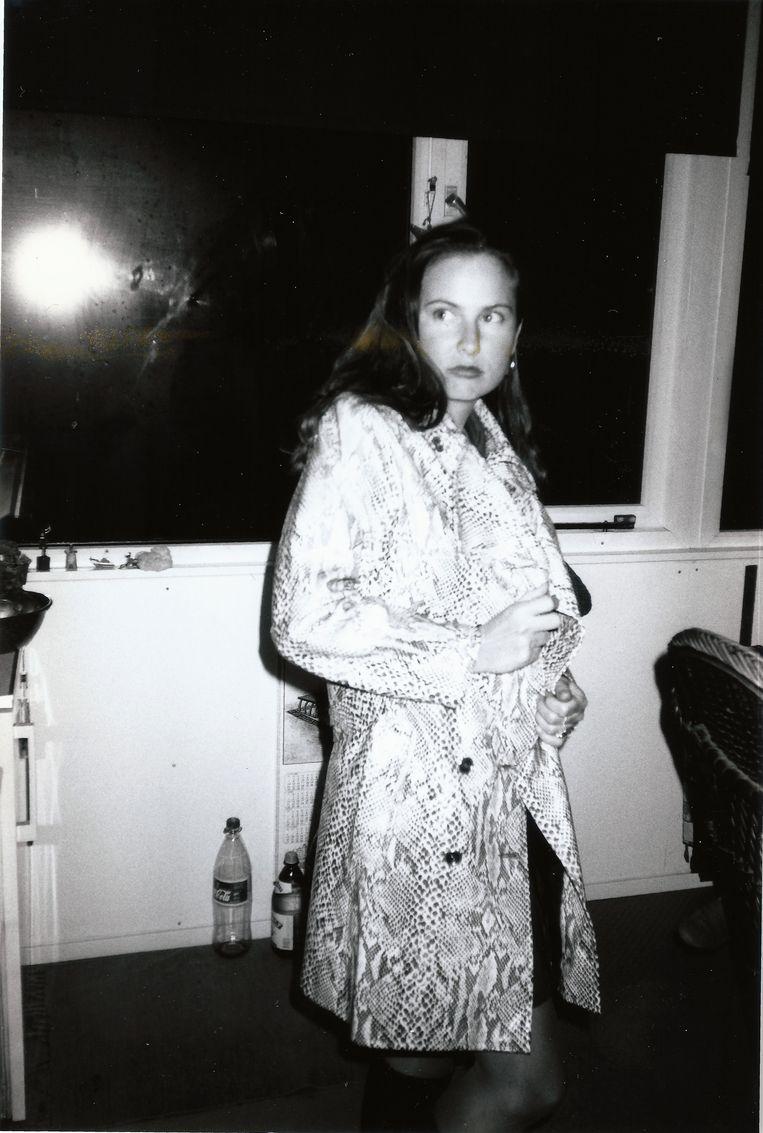 Stefanie in 1996. Beeld privé archief