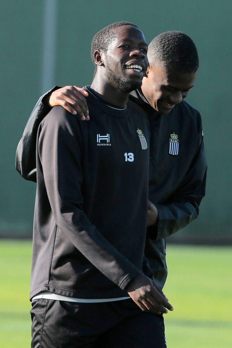 Christophe Diandy en Chris Bedia.