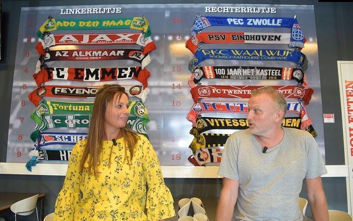 Verslaggevers Fardau Wagenaar en Leon ten Voorde.