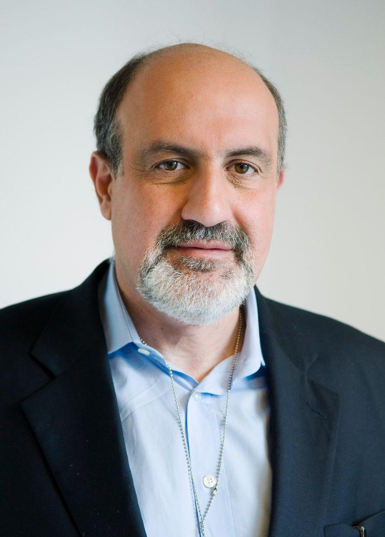Nassim Taleb, de Libanees-Amerikaanse hoogleraar risicomanagement, schreef een boek over hoe te leven in onbegrijpelijke tijden. Beeld Getty