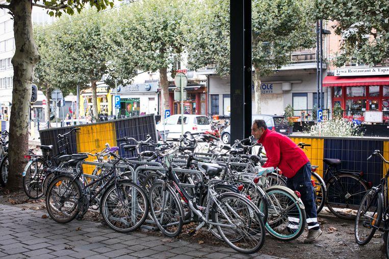 Fietsdiefstallen vormen een groot probleem in Gent. Beeld Bas Bogaerts