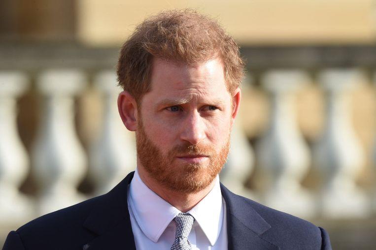 Prins Harry zal een positie innemen als 'chief impact officer' bij het bedrijf uit San Francisco.  Beeld Photo News