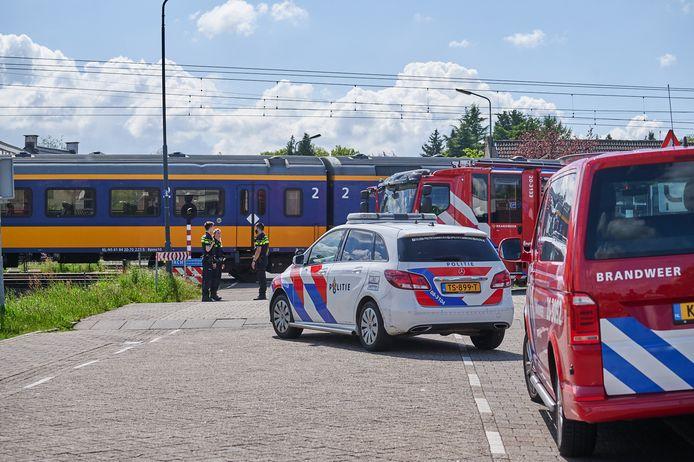 Meisje om het leven gekomen na aanrijding met een trein
