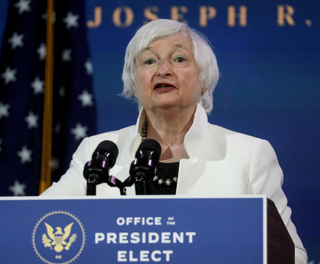 Janet Yellen, la future secrétaire américaine au Trésor.