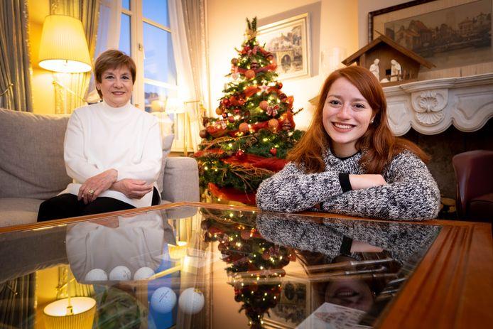 Connie Neefs brengt samen met haar dochter Hannelore het kerstlied 'Susa Nina' uit van haar overleden broer Louis.