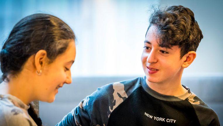 De onderzoekers verwijzen naar de zaak rond Howick en Lili, de Armeense kinderen die na tien jaar Nederland uitgezet dreigden te worden, maar na grote ophef alsnog mochten blijven. Beeld anp