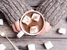 Koud? Neem warme chocolademelk, geen borrel