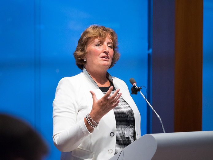Burgemeester Liesbeth Spies. (Archieffoto).