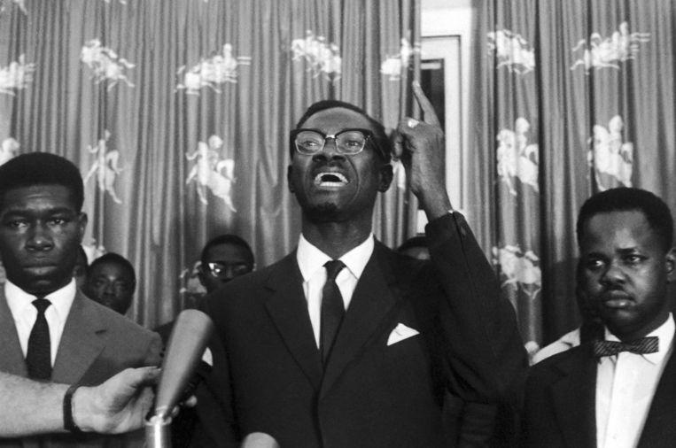 Patrice Lumumba in 1960. Beeld AP