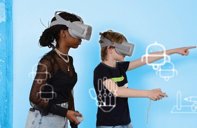 Workshop beleving door de virtuele bril is er ook voor volwassenen.