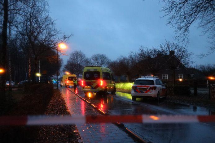 Dodelijk ongeval aan Kloosterstraat Loon op Zand.