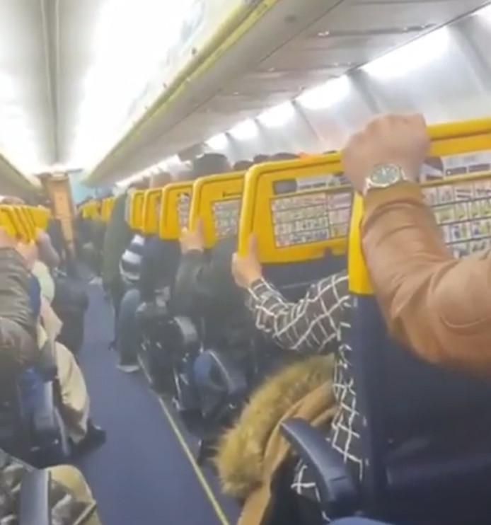 Peur bleue sur le vol Oujda - Charleroi