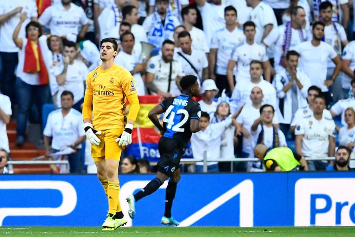 Nouveau match compliqué pour Thibaut Courtois avec le Real Madrid.