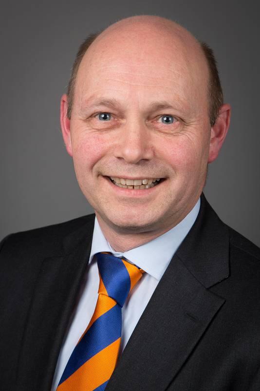 Wethouder Rob Jorg.