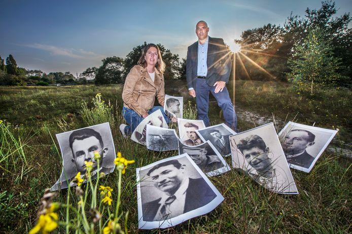 Annette Oudejans en Jurriaan Wouters.