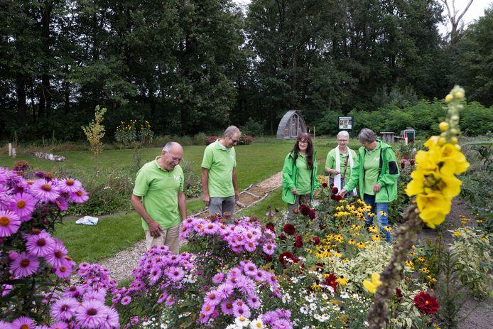 IVN Cranendonck opende vorige maand haar nieuwe belevingstuin op landgoed de Baronie.