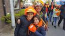 Floor (42), Luis (11) en Ana  (7) Bink uit Vught.