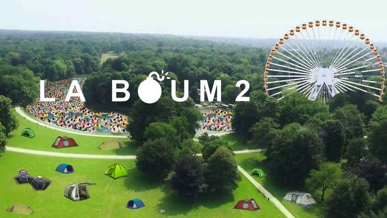 De aankondiging van La Boum 2 op Facebook. Beeld Facebook