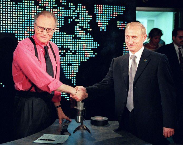 Avec Vladimir Poutine