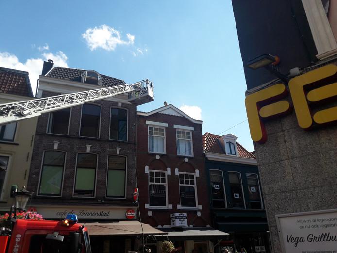 60504717dd6 Brandweer rukt uit voor brand in centrum van Utrecht | Utrecht | AD.nl