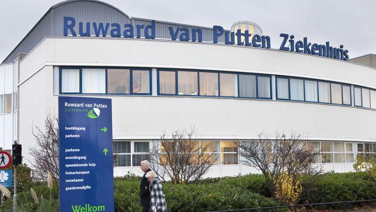 Het in opspraak geraakte Ruwaard van Putten Ziekenhuis Beeld ANP