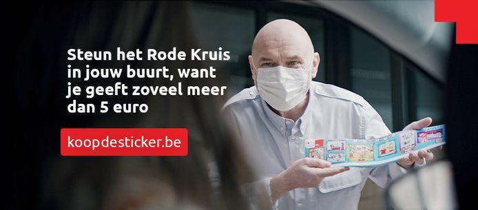 Rode Kruis Lennik-Gooik stickeractie.