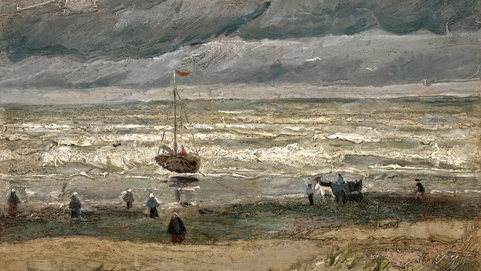 """""""Vue sur la mer à Scheveningen"""""""