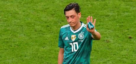 Mesut Özil stopt als Duits international na rel om Erdogan
