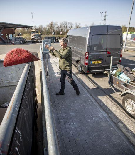 Afvalbrengpunt Oldenzaal per 1 juli 's ochtends twee uur eerder open maar op woensdag wel eerder dicht