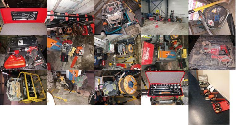 De politie zoekt de eigenaars van verschillende gestolen goederen
