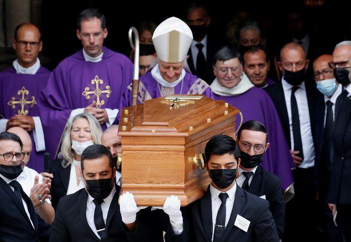 Begrafenis Jean-Paul Belmondo