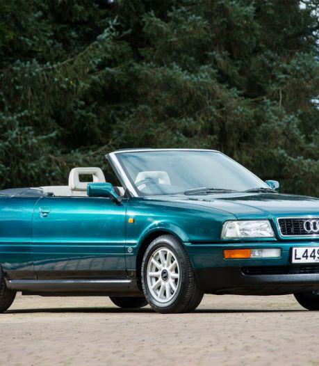 Te koop: de Audi 80 cabriolet van prinses Diana