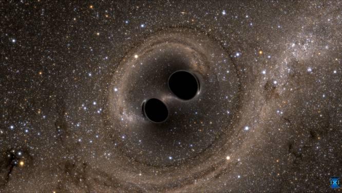 Voor de derde keer een zwaartekrachtgolf waargenomen