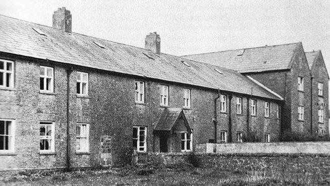 Het kindertehuis in Tuam omstreeks 1950