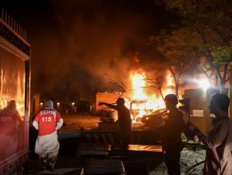 Vier doden bij explosie in Pakistaans luxehotel