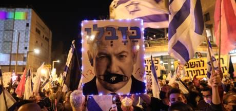 Duizenden mensen in Israël de straat op om te protesteren tegen premier Netanyahu