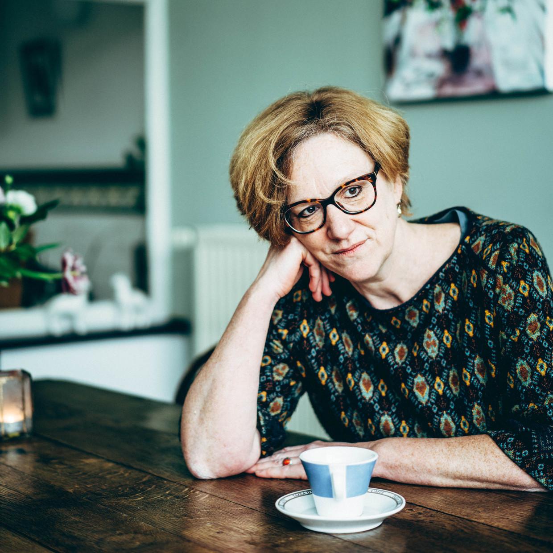 Gita Deneckere is decaan van de faculteit Letteren en Wijsbegeerte van de UGent: 'Er moet in Vlaanderen beter nagedacht worden over het democratische en culturele deficit dat met de verengelsing gepaard gaat.' Beeld Thomas Sweertvaegher